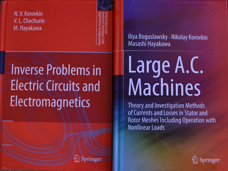 New Springer publications from the Department of Theoretical Electrical Engineering and Electromechanics