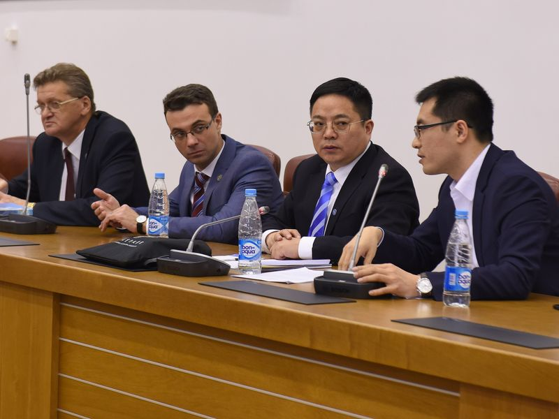 Chinese Delegation visited IETS